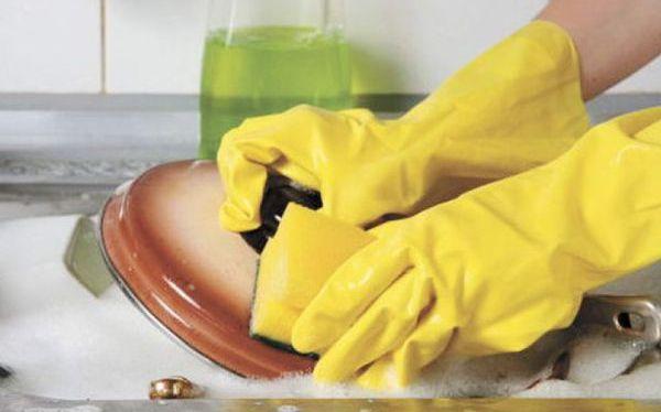 С домашними средствами для мытья посуда будет сиять чистотой. Фото с сайта avito.st