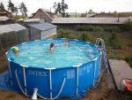 Дачный бассейн – Каркасные бассейны для дачи в Домодедово — купить недорого уличный каркасный бассейн на дачу в интернет-магазине по выгодной цене