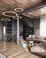 Глянцевый потолок в гостиной фото – Потолок в гостиной фото дизайн: оформление 2020, современные идеи интерьера, с высокими и низкими, в маленькой варианты